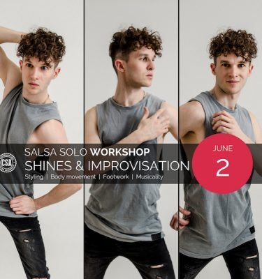 Shines & Improvisation Workshop, Salsa, Footwork, Class, Workshop, Dennis Bertolazza