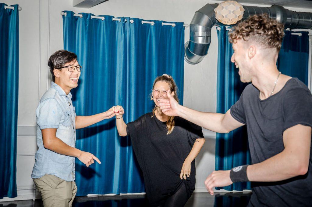 Salsa dancing team at Copenhagen Salsa Academy