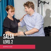 salsa fortsætter, salsa improver