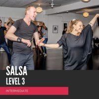 salsa letøvet, salsa intermediate