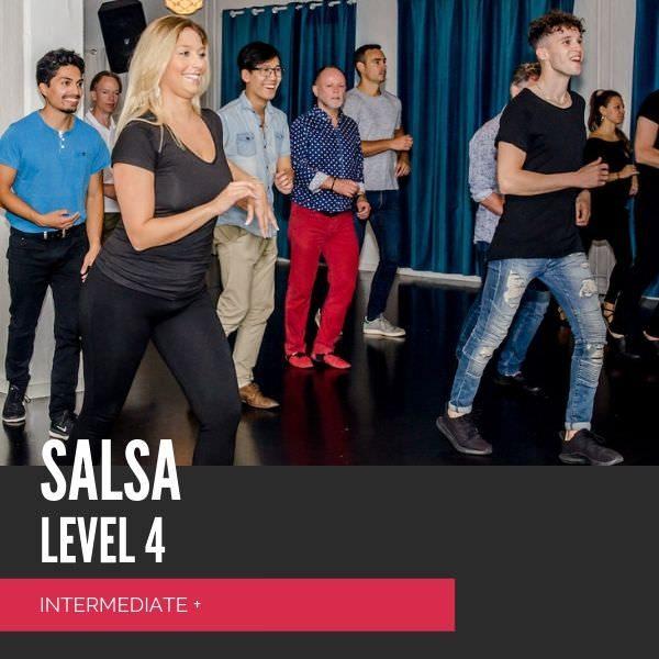 salsa letøvet +, salsa intermediate +